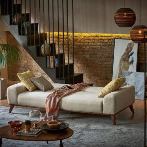 3er Sofa mit Bettfunktion