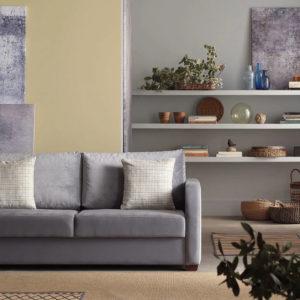 2er Sofa mit Stauraum